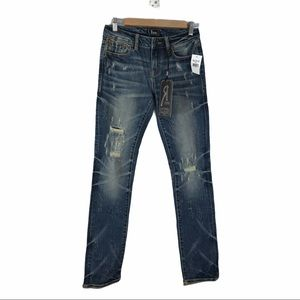 NWT Remix by Rock Revival Slim Straight Jeans